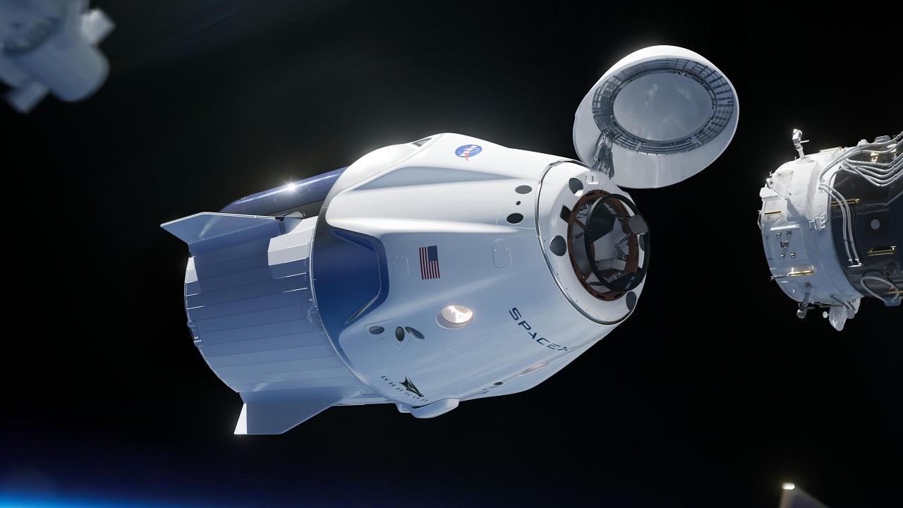 SpaceX caspule Crew Dragon